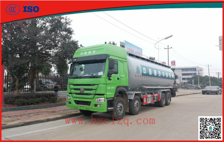 千亿国际客户端380马力42方罐式泥浆运输车