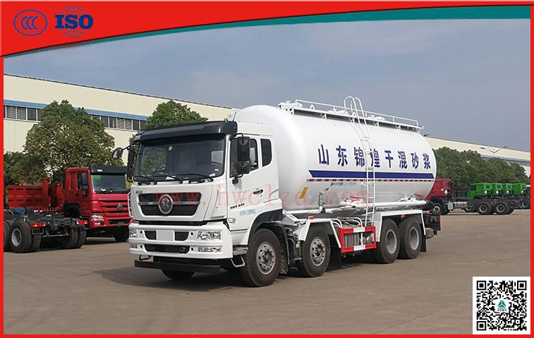 千亿国际客户端340马力干混砂浆运输车