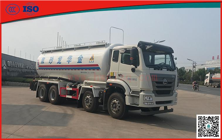 千亿国际客户端轻量化干混砂浆运输车