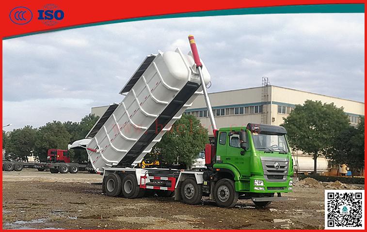 千亿国际客户端25方厢式污泥运输车
