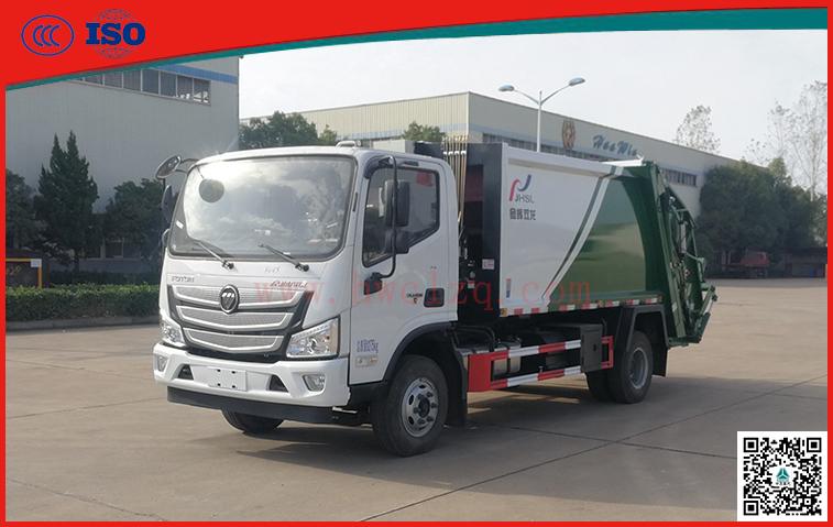 福国(国六)8方压缩垃圾车