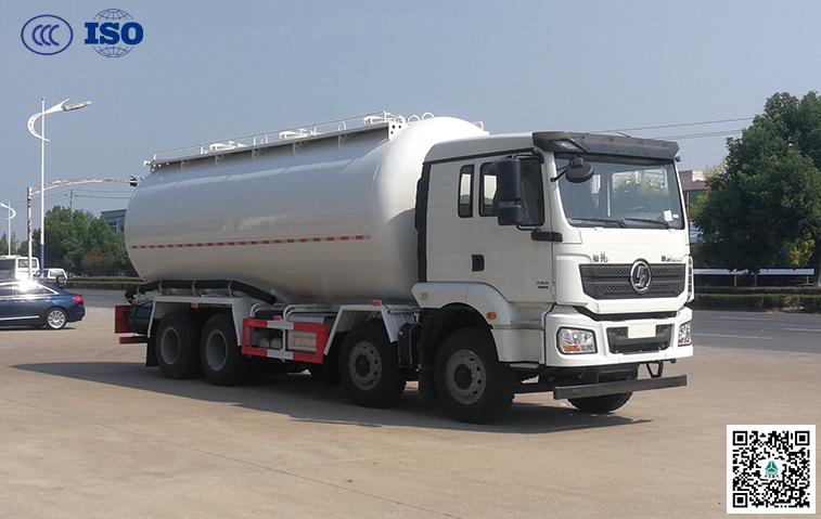 陕汽(国六B)350马力干粉砂浆运输车