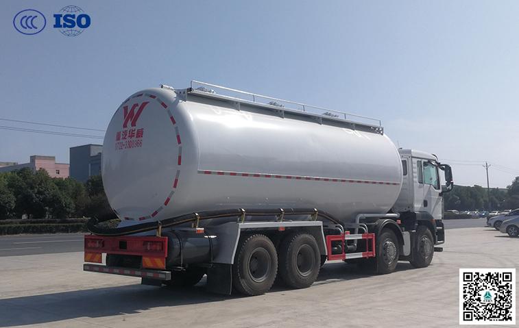 千亿国际客户端汕德卡25方干粉砂浆运输车