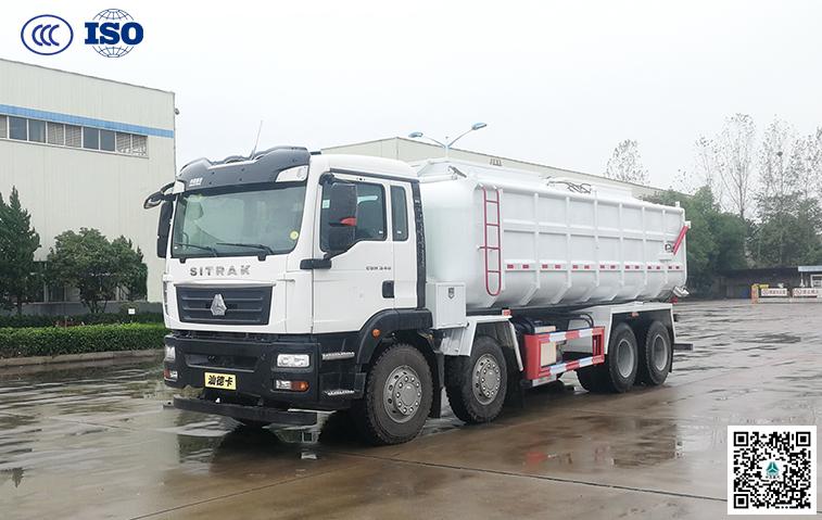 千亿国际客户端汕德卡(国六B)自卸式污泥运输车