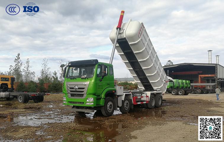 千亿国际客户端(国五)25方厢式污泥运输车