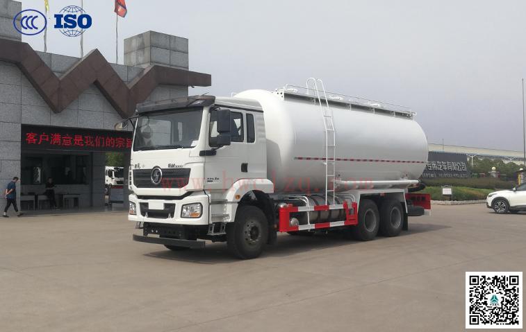 陕汽(LNG)23方干混砂浆运输车