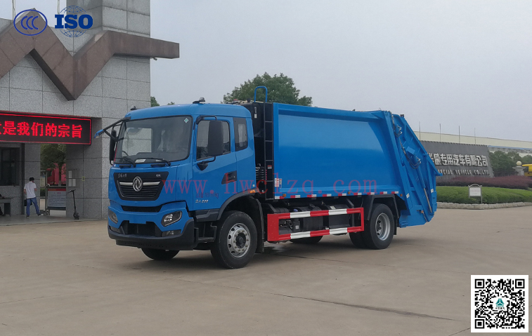东风天锦(国六)14方压缩垃圾车