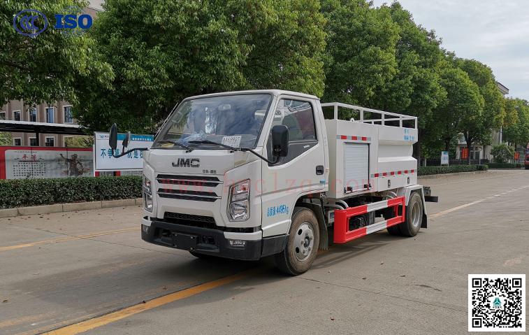 江铃SGZ5040GQXJX6(国六)方厢清洗车