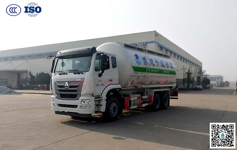 千亿国际客户端豪瀚25方干混砂浆运输车