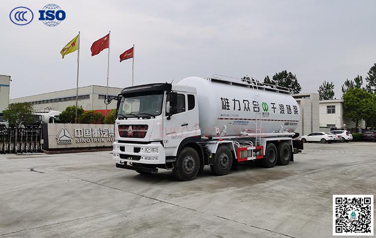 千亿国际客户端前四后八25方干混砂浆运输车