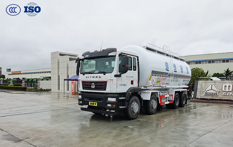 汕德卡(国六)25方干混砂浆运输车
